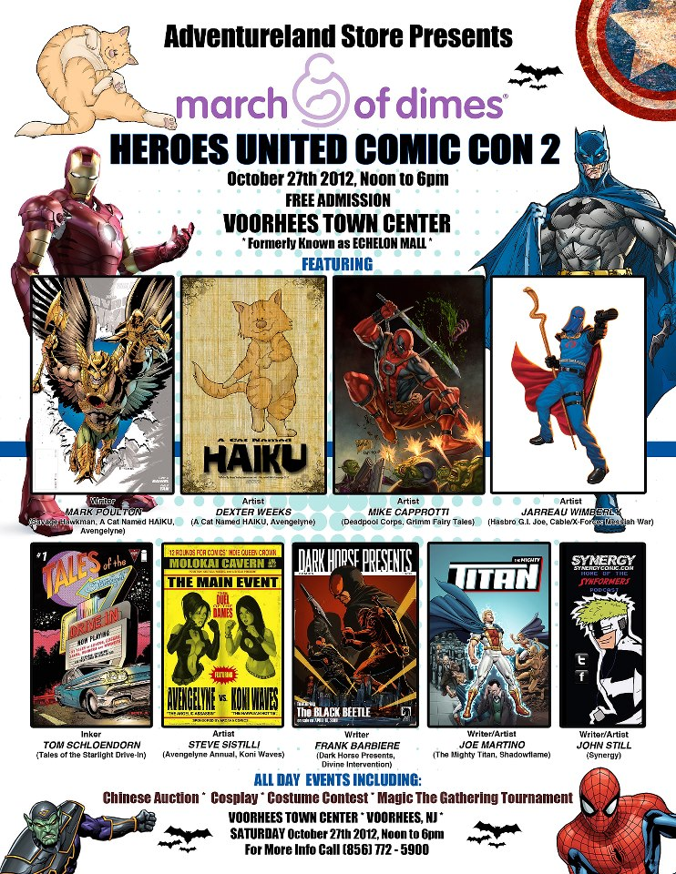 Upcoming Shows: Heroes United 2